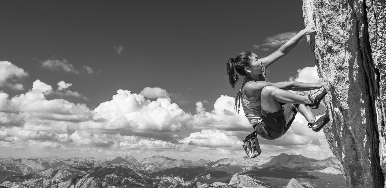 Grit-Rock-Climber